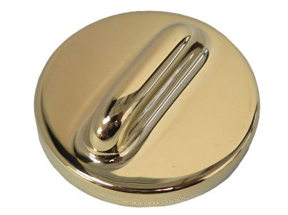 "VENTURI AIR CONTROL PART: 1"" AND 2"" STEM ESCUTCHEON POLISHED BRASS 10-2206M PB"