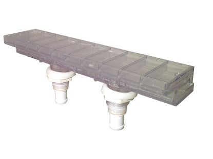 WATERFALL BODY: AQUA TERRACE WITH MOUNTING NUTS (2005+) 6541-063